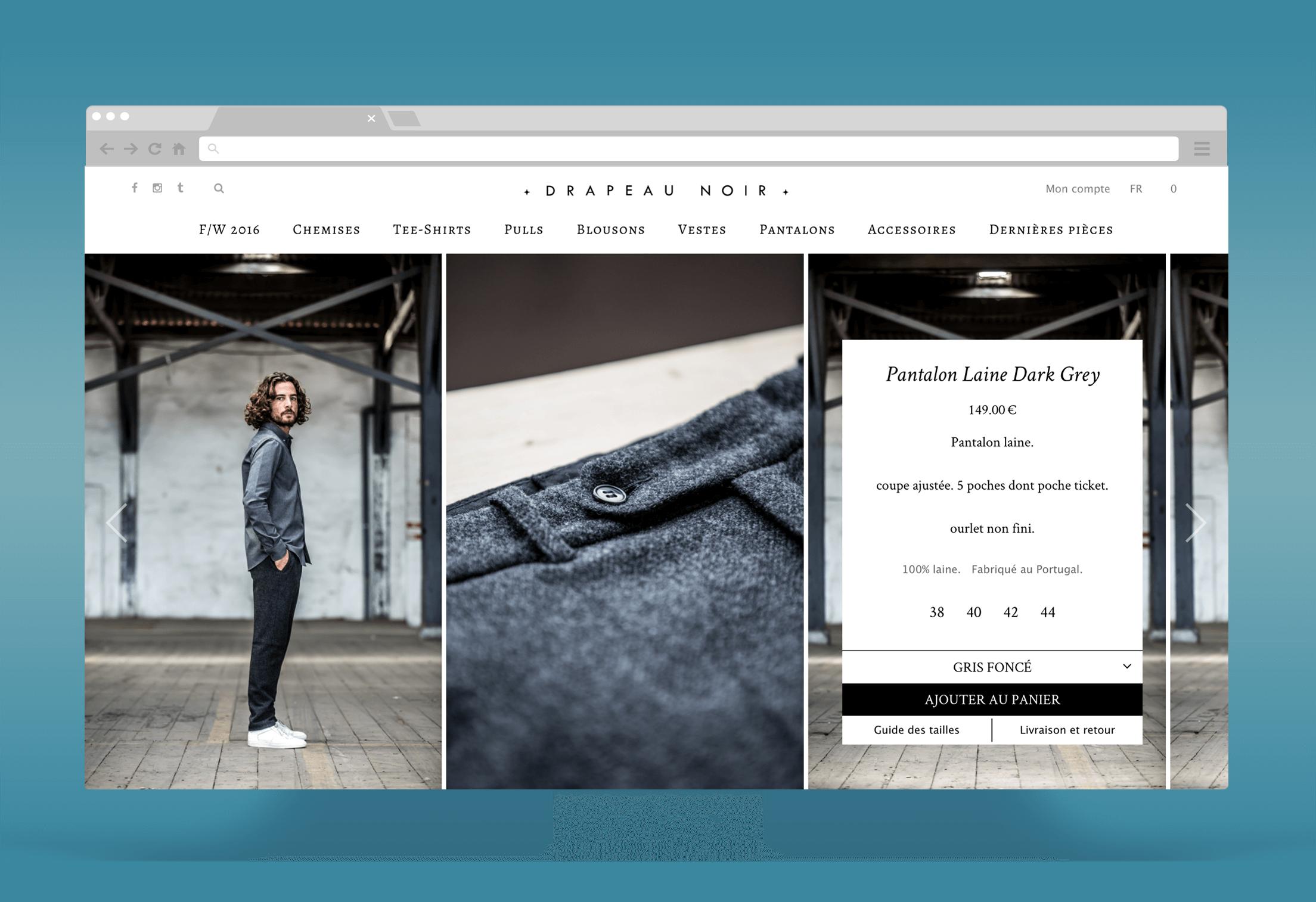 Drapeau Noir : Maintenance et évolutions de la boutique Woocommerce