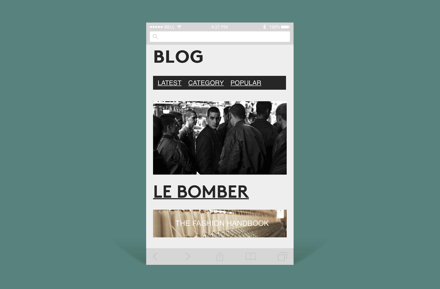 Graduate : Intégration d'un blog sous Prestashop