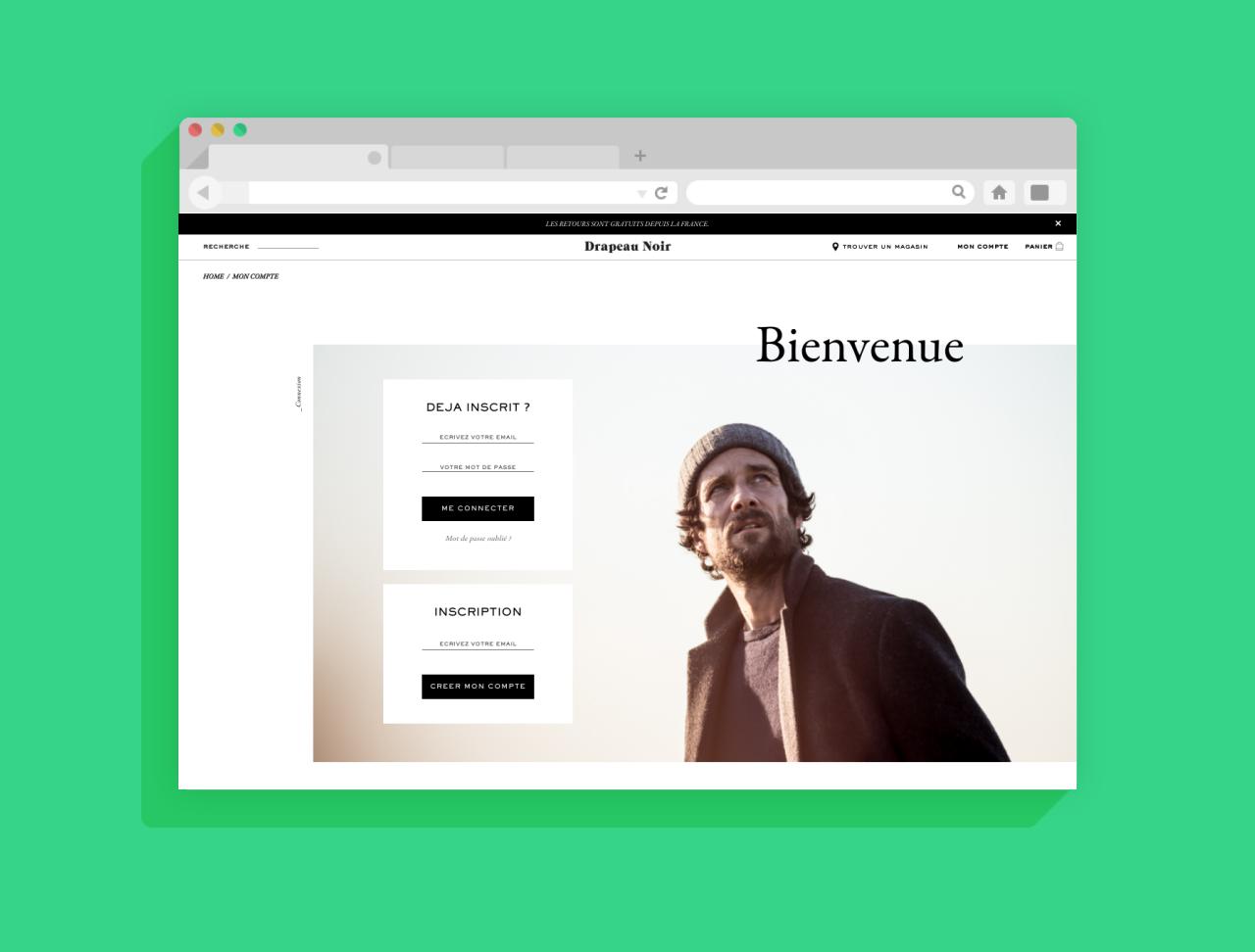 Drapeau Noir : Développement (en binôme) d'une plateforme e-commerce