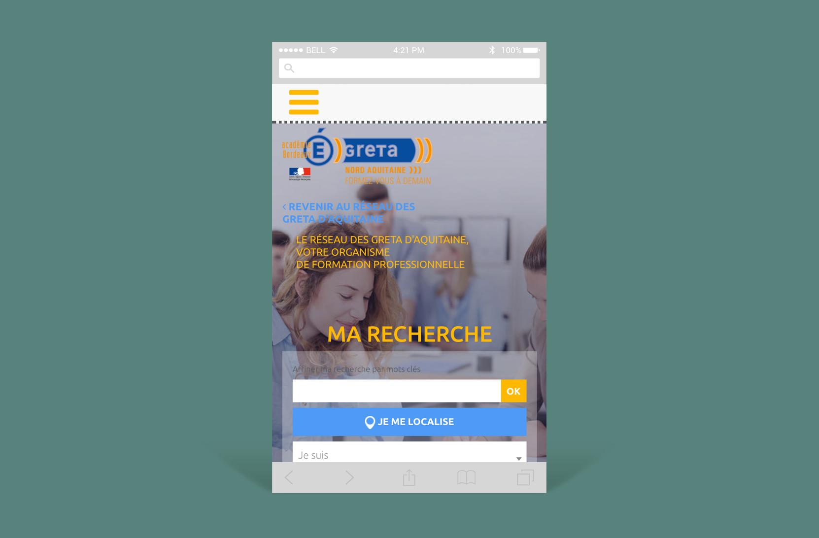 Greta Aquitaine : Intégration partielle Wordpress