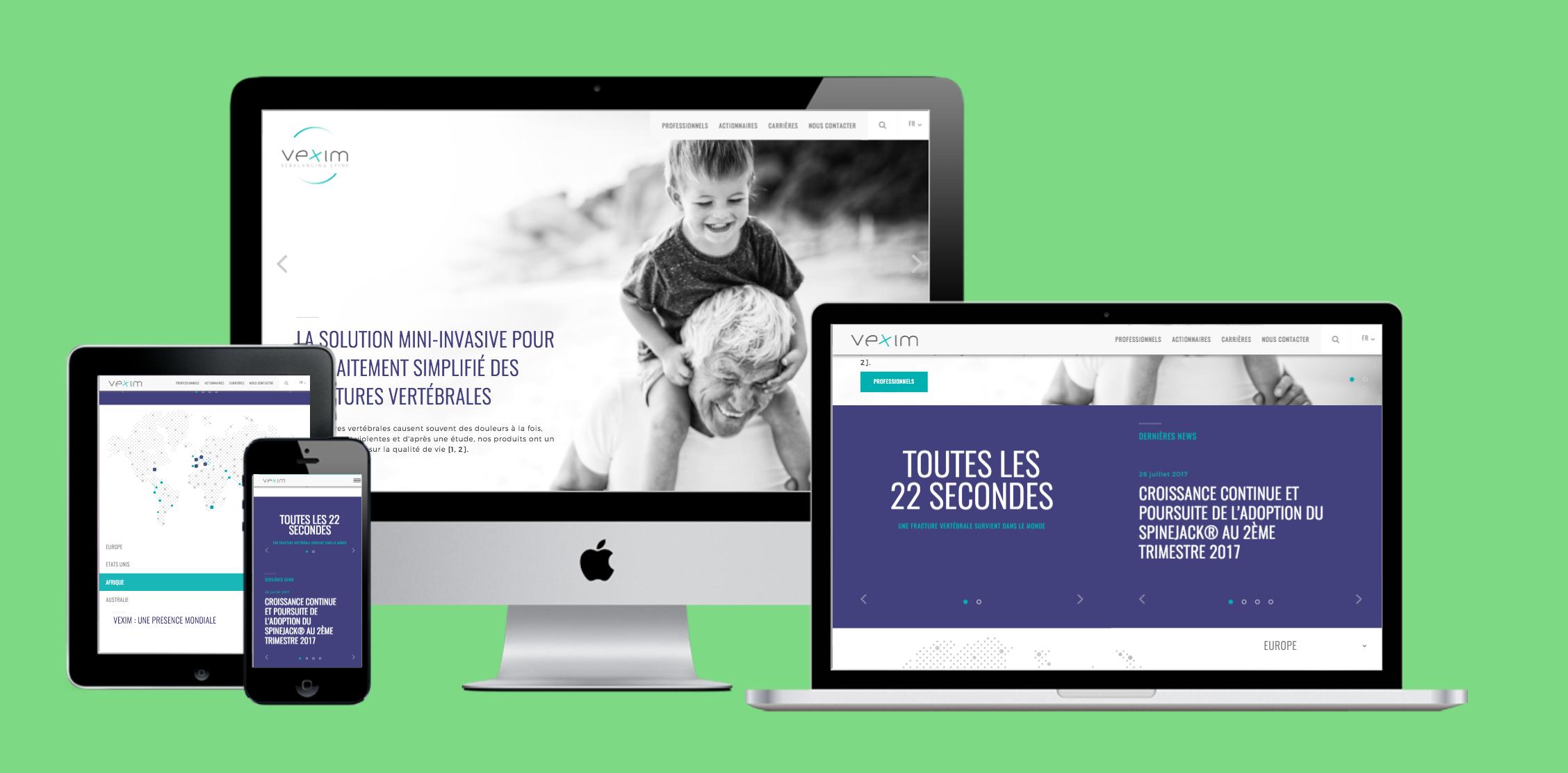 Vexim : Développement d'un multi-site Wordpress